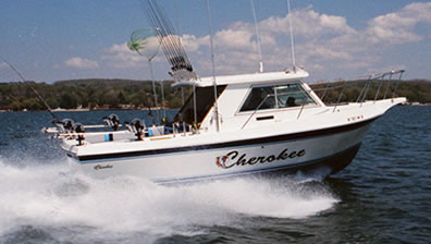 Lake erie lake erie head boats for Fishing charters cleveland ohio
